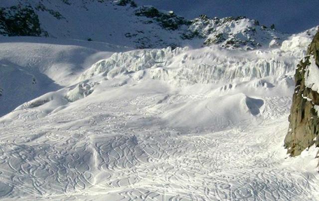 Seraccate centrali ghiacciaio del Tuola