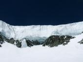 Enormi seraccate di ghiaccio sulla Valle di Verra