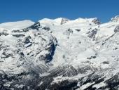 Vista della parte alta Valle della Verra e Breithorn