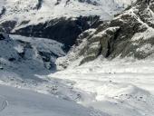 Porta Nera, lingua glaciale di rientro