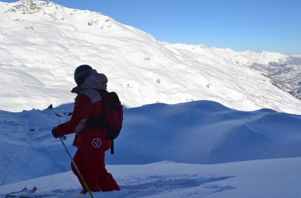 Fuoripista tra Val Thorens e Les Menuires