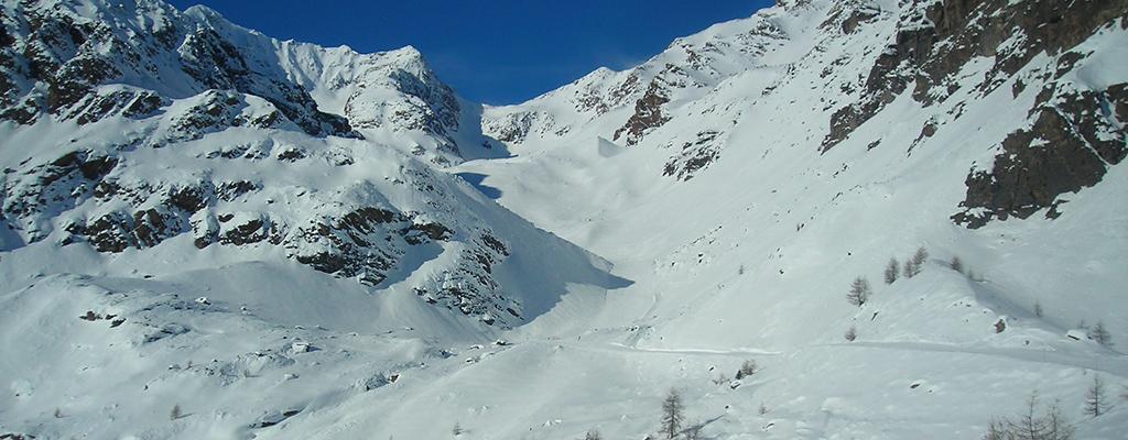Sci da urlo nel vallone selvaggio: Val della Mite, Pejo
