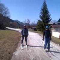 Estate 2013: sci sulle vecchie lingue di neve (o all'interno di faraonici ski dome...)