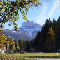 Montagna d'autunno, intriganti contrasti