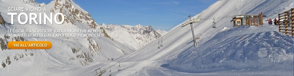 sciare vicino a torino