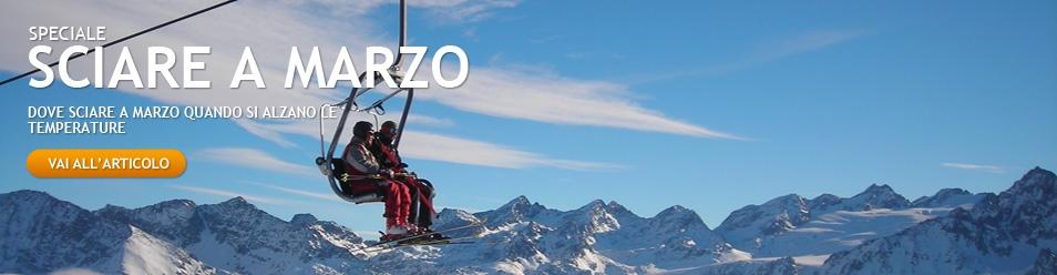 Dove sciare a marzo
