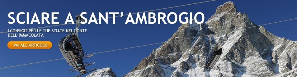 Sciare nel ponte di Sant'Amborgio