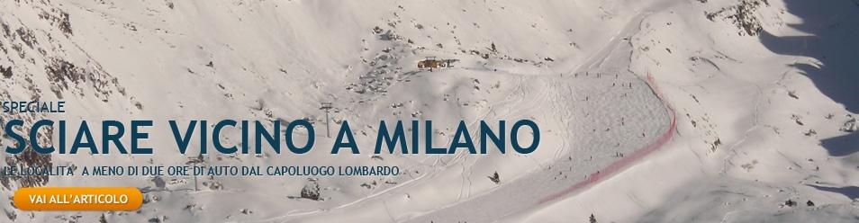 sciare vicino a milano
