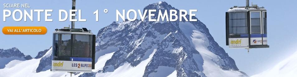 Sciare il ponte del 1 novembre