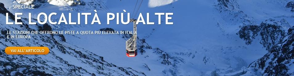 Quali sono le stazioni sci più alte