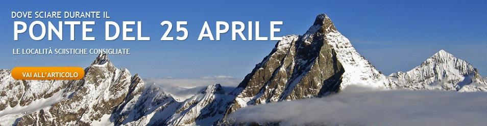 Sciare il 25 aprile