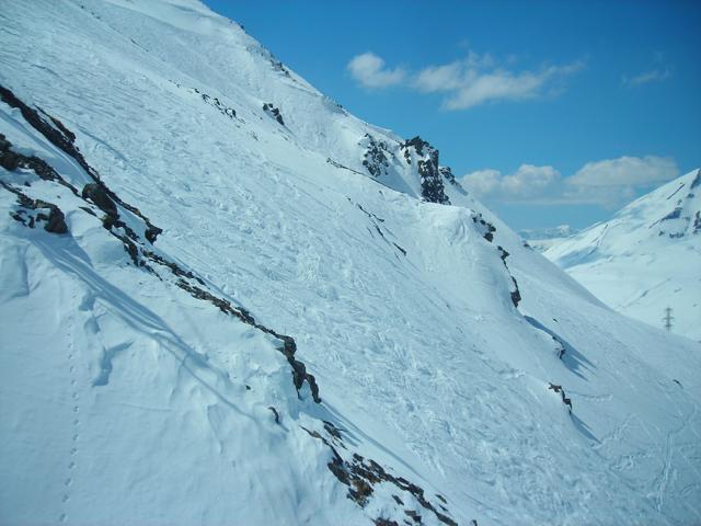 sciare vicino a la thuile