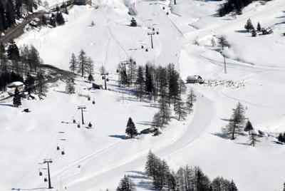 sciare vicino a brescia