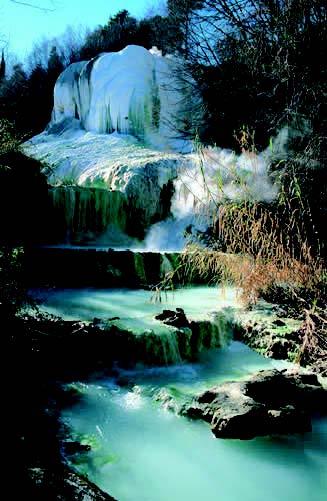 Monte amiata toscana terme di san filippo san casciano dei bagni saturnia dove sciare - Bagno di san filippo ...