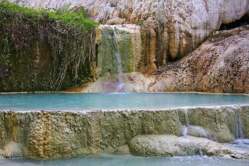 Monte amiata toscana terme di san filippo san casciano dei bagni saturnia dove sciare - Bagni san filippo terme ...