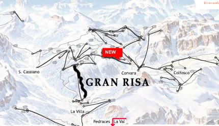 Cartina pista Gran Risa