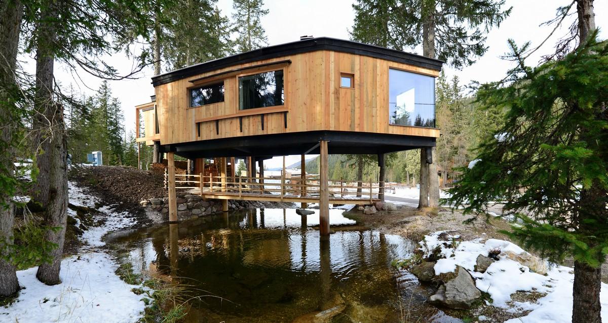 Alta pusteria dove trovare una casa vacanze sugli alberi - Casa sugli alberi ...
