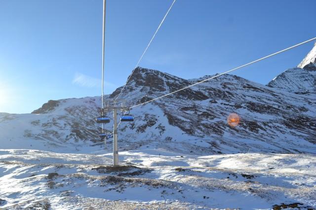 Linea nuova seggiovia Zermatt