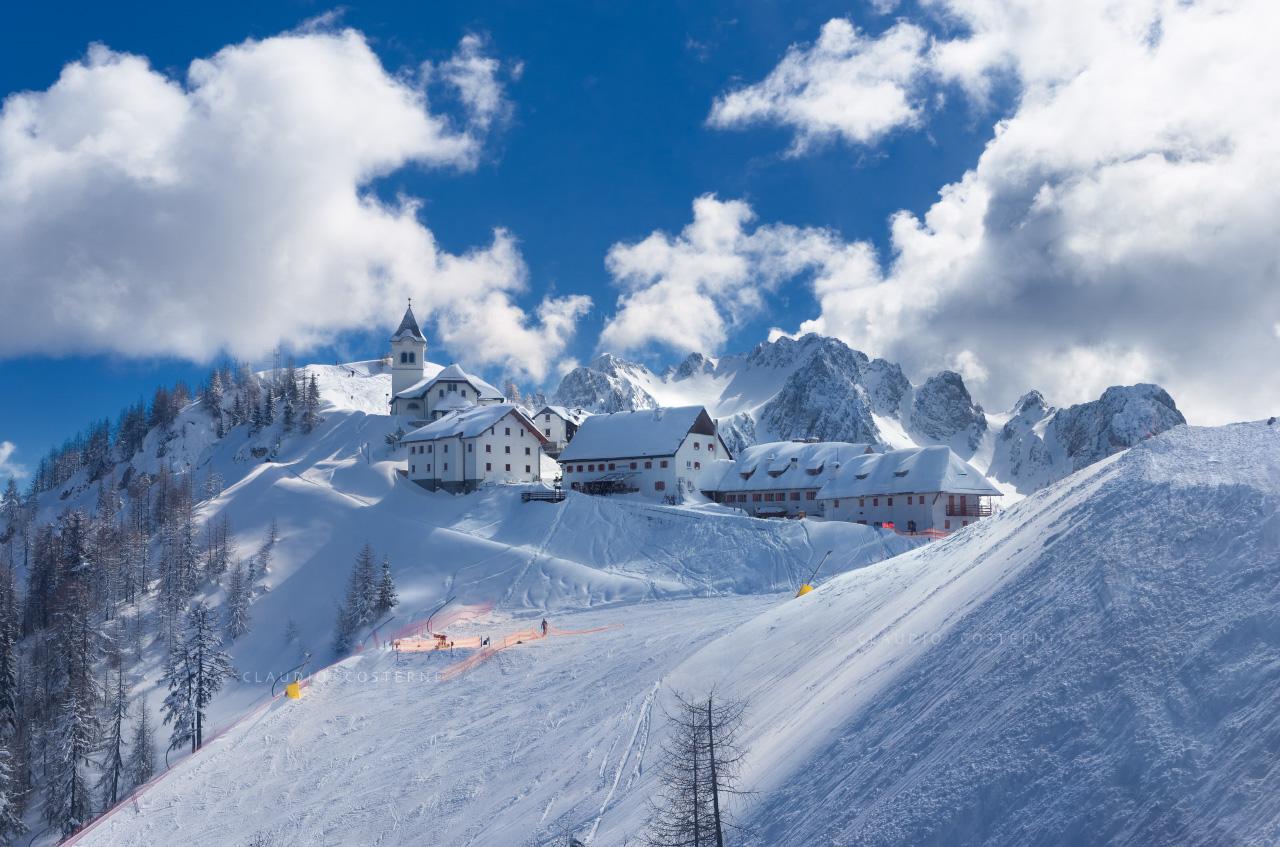 Di prampero lussari tarvisio dove sciare - Residence sulle piste da sci con piscina ...