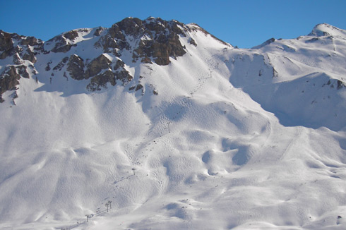 Piste impegnative Francia - Jean Pachod - Courchevel