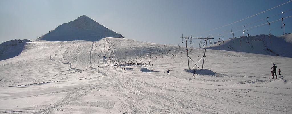 Località sciistiche dove sciare in estate