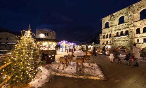 Mercatini Di Natale Aosta.Mercatini Di Natale In Valle D Aosta Dove Sciare