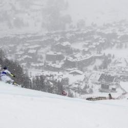 Fisi Pentaphoto - De Aliprandini in gara in Val d'Isere nel 2018