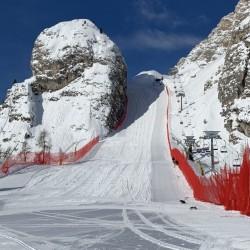 Cortina, la pista Olympia delle Tofane