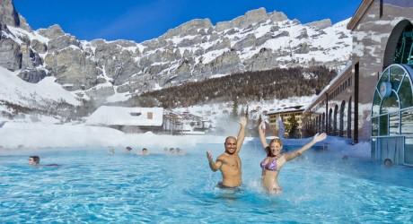 Bagni Termali Svizzera : Terme bagni vecchi piscina panoramica in inverno foto gallery