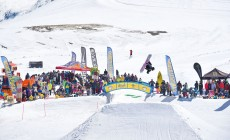 LIVIGNO - THE GUARDIAN, GRANDE RADUNO FREESTYLE NELL'AREA THE BEACH