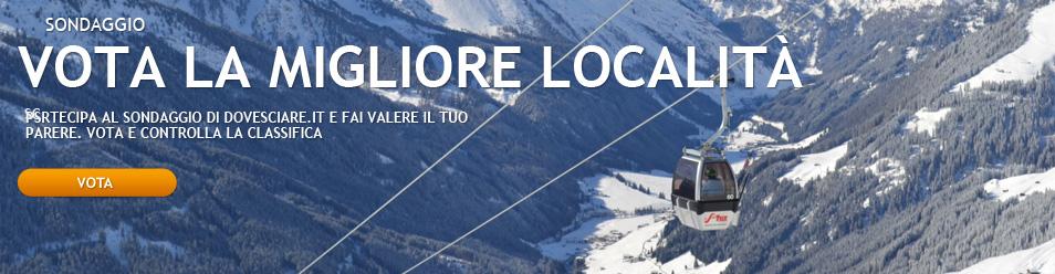Vota la migliore località sciistica italiana